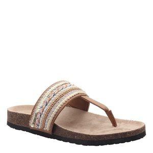 Madeline Tan Mingle Sandals